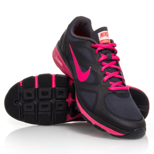 Nike Dual Fusion TR - Womens Training Shoes - Black Pink  e1f297e60826