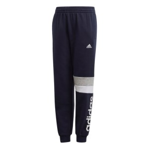 Adidas Linear Colour Blocked Kids Track Pants