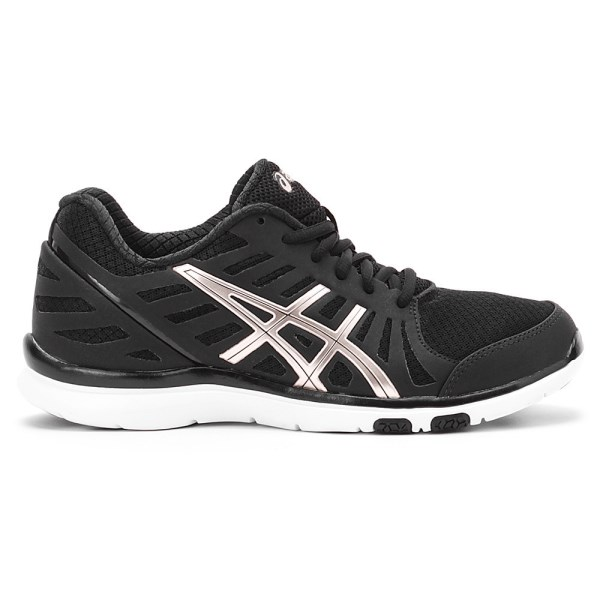 Asics Ayami Zone - Womens Training Shoes - Black White  839f6ec3c0