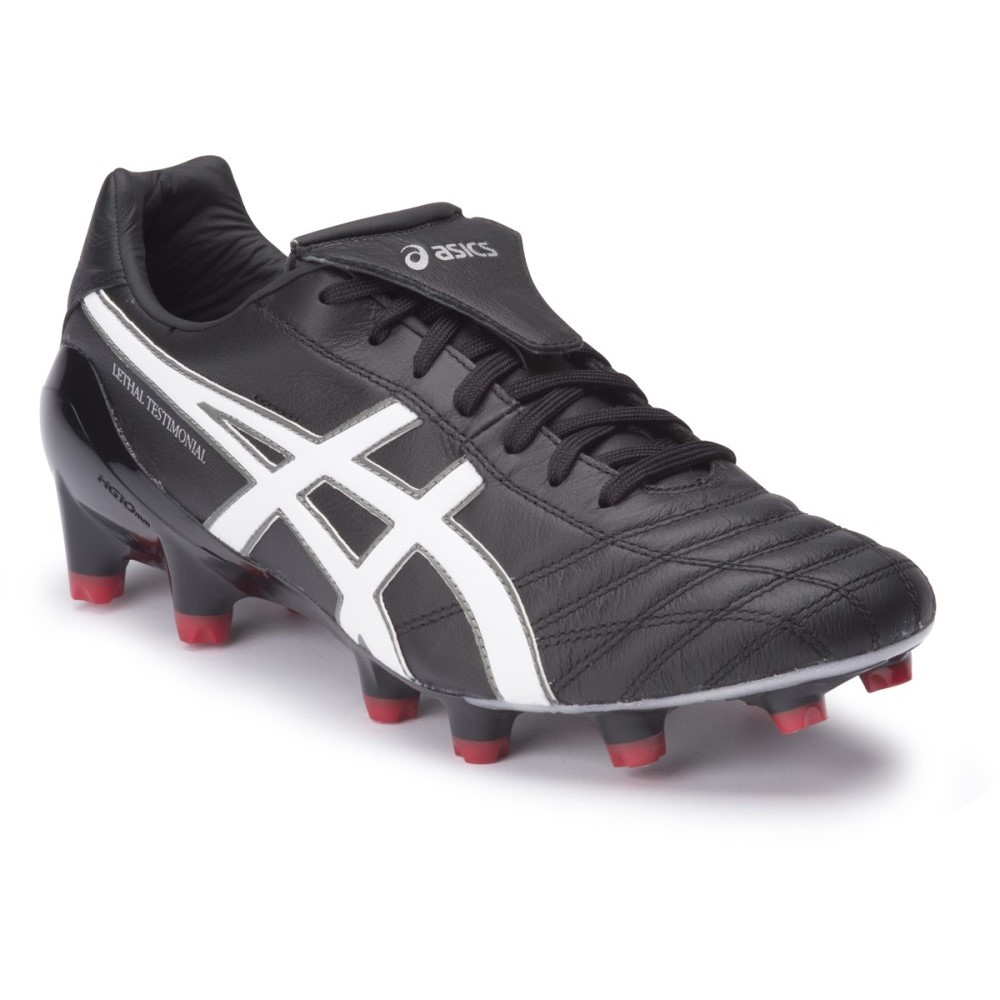 fc5a7b1bfb4c Asics Lethal Testimonial 4 IT - Mens Football Boots - Black/White/Silver