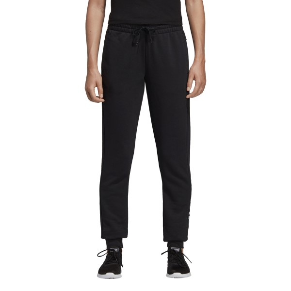 Adidas Essentials Linear Womens Sweatpants - Black/White