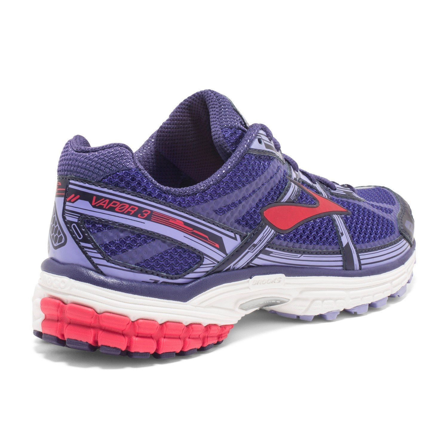 Brooks Vapor 3 - Womens Running Shoes - Clemantis Blue