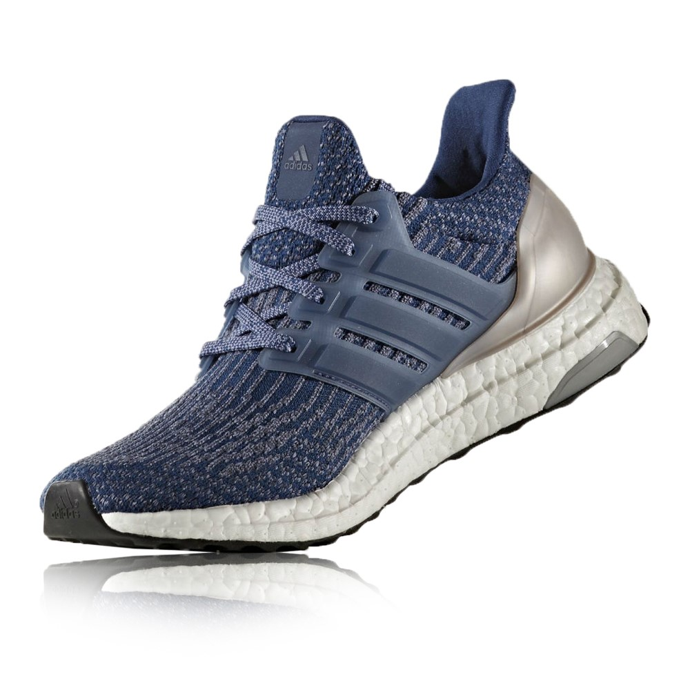 2cbd43820cc8e Adidas Ultra Boost - Womens Running Shoes - Mystery Blue Vapour Grey ...