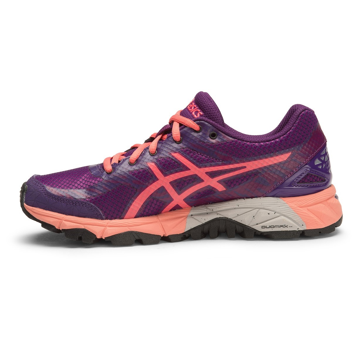 asics gel fuji trabuco 5 gs kids girls trail running shoes phlox guava parachute purple. Black Bedroom Furniture Sets. Home Design Ideas