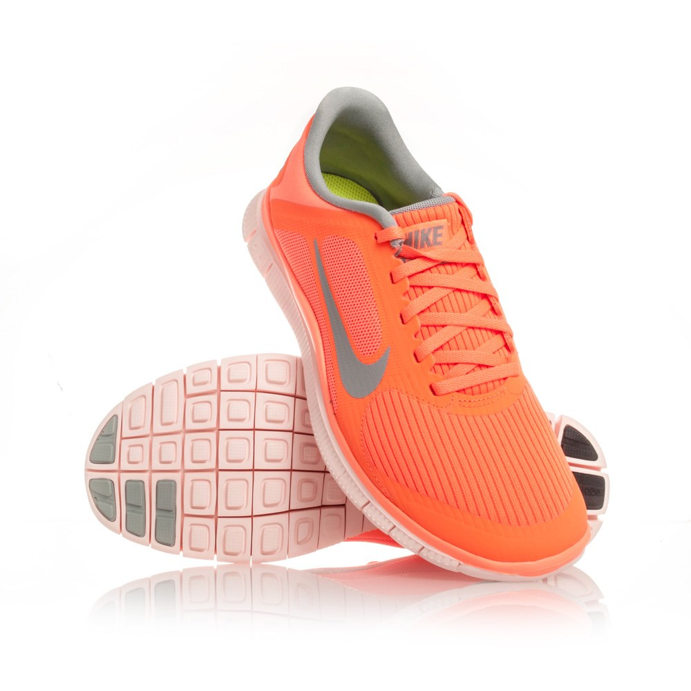 nike free 4 0 v3 womens running shoes atomic orange. Black Bedroom Furniture Sets. Home Design Ideas