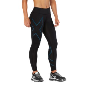 2XU Mid-Rise Womens Full Length Compression Tights