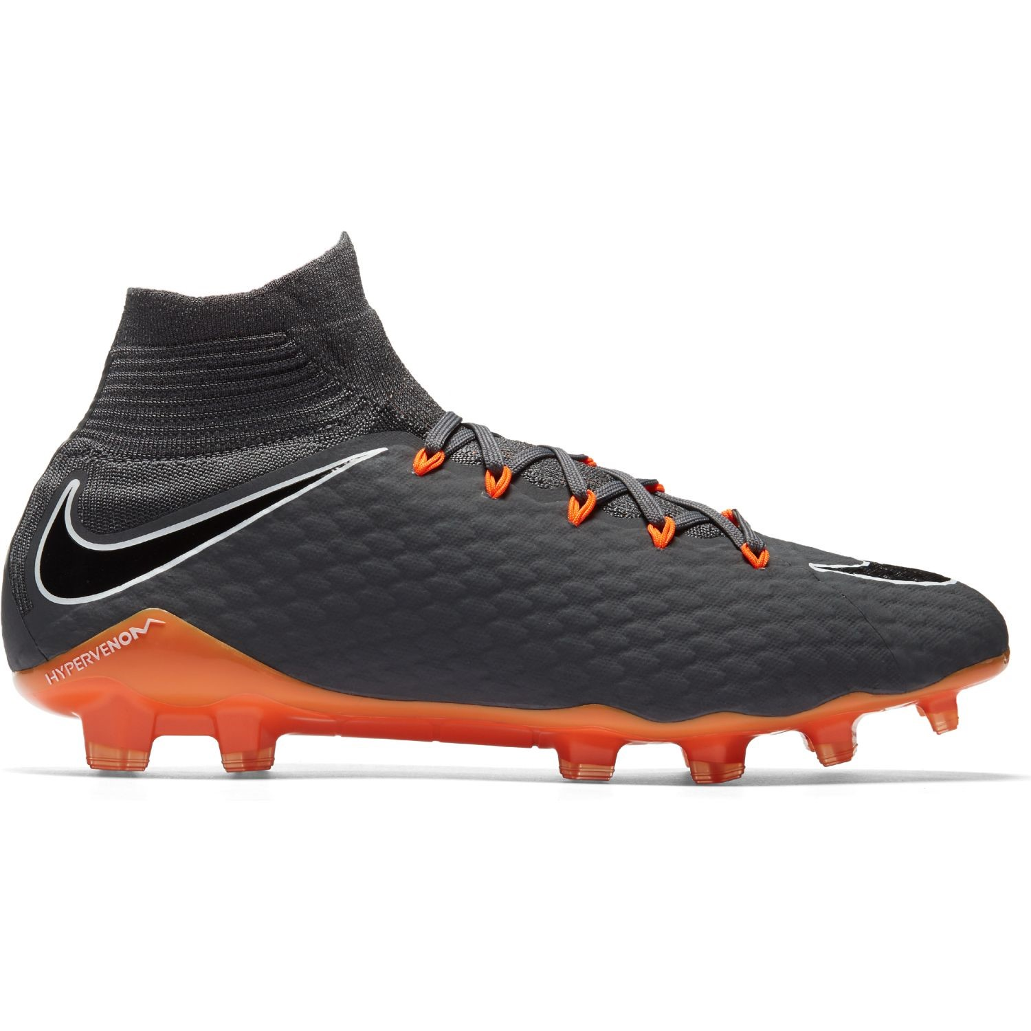 bfbb7453eb5 Nike Hypervenom Phantom III Pro DF FG - Mens Football Boots - Dark  Grey Total