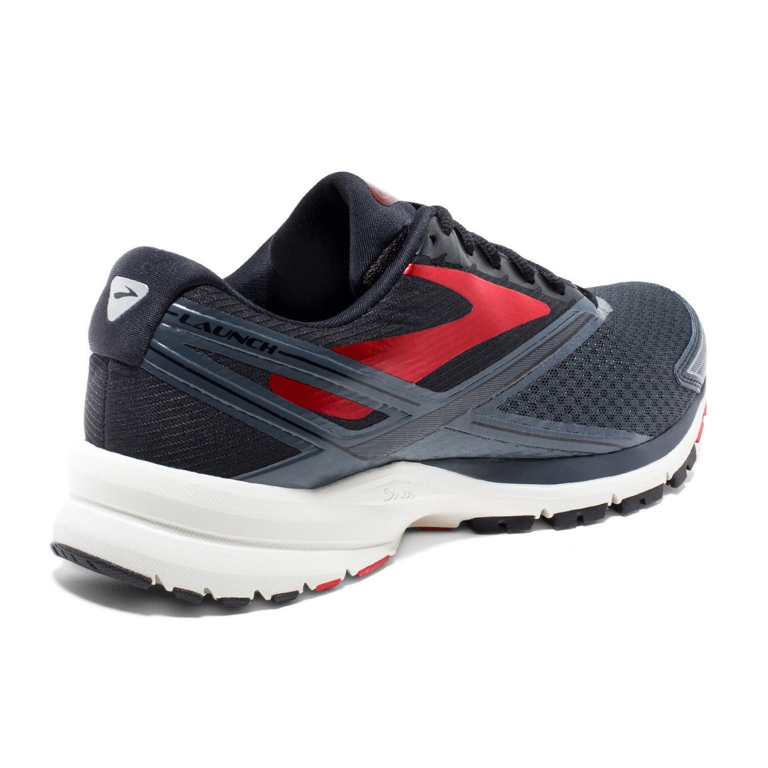 c88aeed05ab Brooks Launch 4 - Mens Running Shoes - Anthracite Black Red