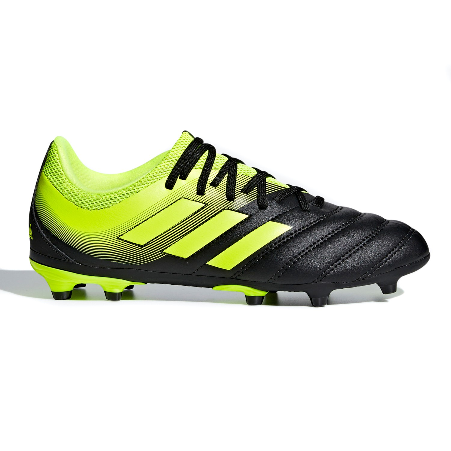 7de878dc8a Adidas Copa 19.3 FG - Kids Boys Football Boots - Core Black Yellow ...