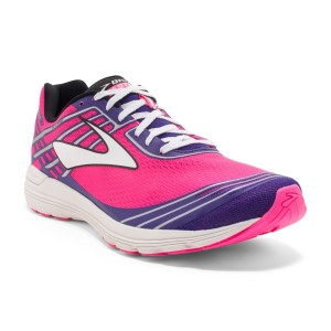 Brooks Asteria - Womens Racing Shoes - Knockout Pink/Black