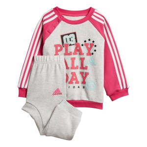 Adidas Graphic French Terry Infant Girls Jogger Set