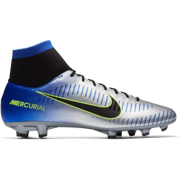 Nike Mercurial Victory VI Dynamic Fit Neymar FG - Mens Football Boots - Racer Blue/Chrome/Volt/Black