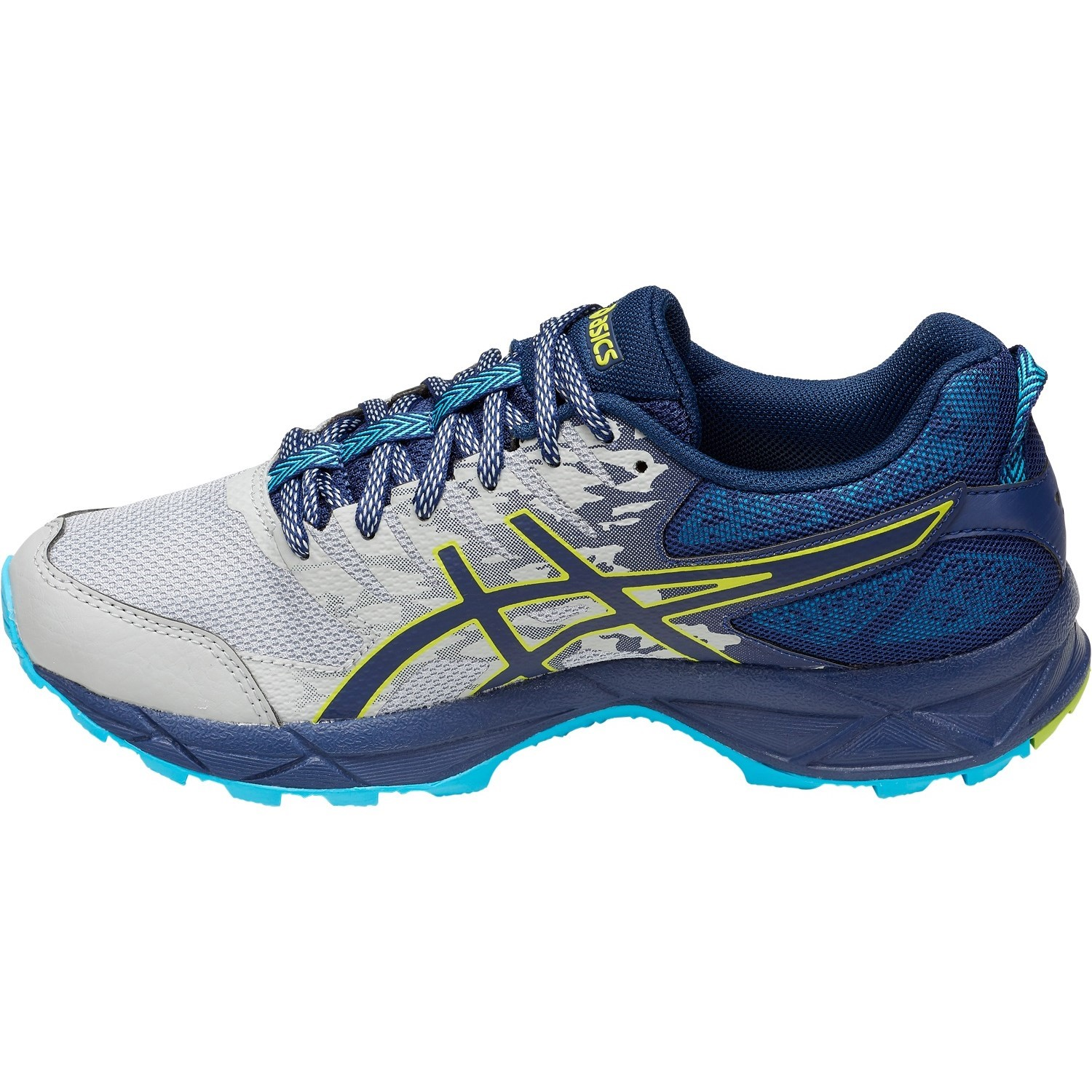 359784eb66c8 Asics Gel Sonoma 3 - Womens Trail Running Shoes - Mid Grey/Aquarium ...