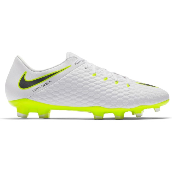 Nike Hypervenom Phantom III Academy FG - Mens Football Boots - White/Metallic/Cool Grey