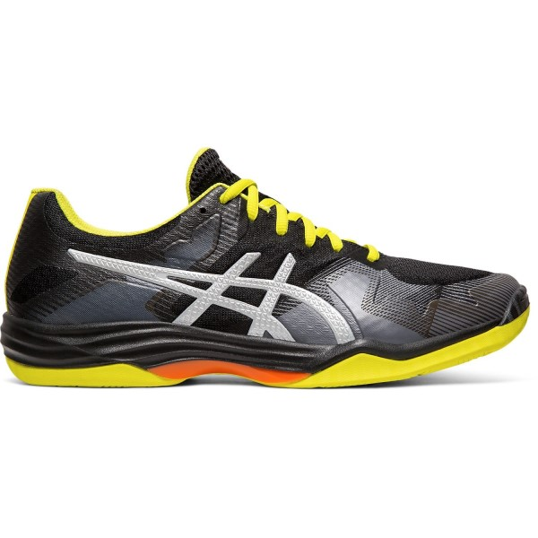 Asics Gel Tactic - Mens Indoor Court Shoes - Black/Silver