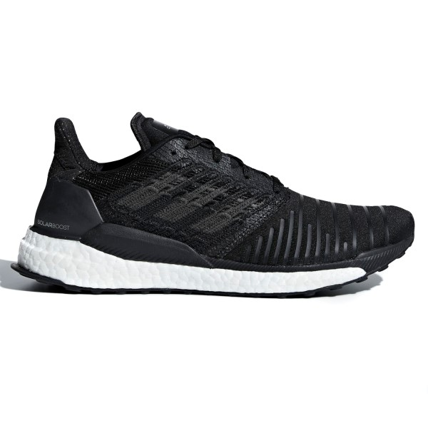 Adidas Solar Boost - Womens Running Shoes - Core Black/Grey/Footwear White