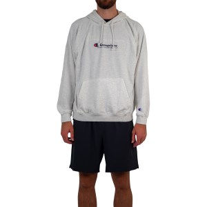 Champion Lightweight Terry Script Mens Hoodie