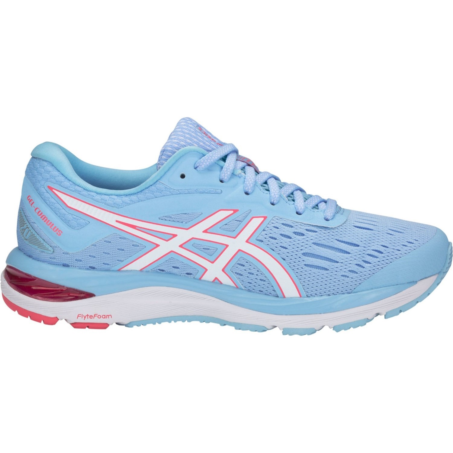 f5acfaa4b722 Asics Gel Cumulus 20 - Womens Running Shoes - Skylight/White ...