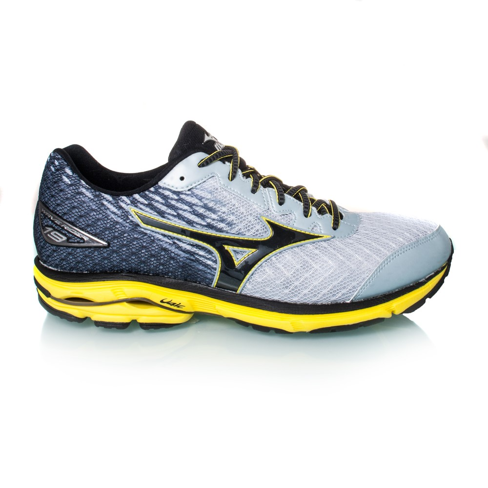 mizuno wave rider 19 mens running shoes pearl white navy online sportitude. Black Bedroom Furniture Sets. Home Design Ideas