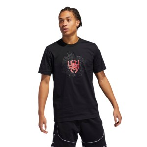 Adidas D.O.N Issue 2 Sense Logo Mens Basketball T-Shirt
