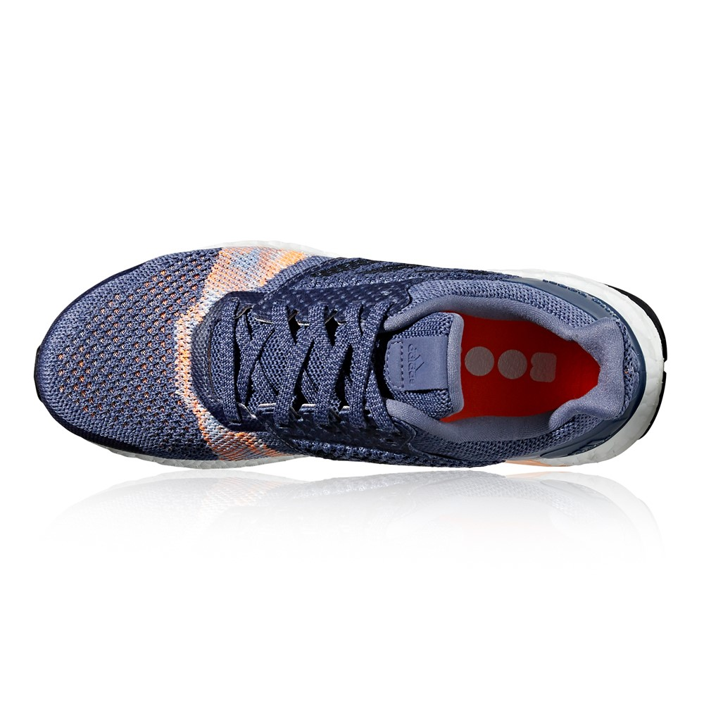60c2f3b620314 Adidas Ultra Boost ST - Womens Running Shoes - Raw Indigo Noble Ink ...