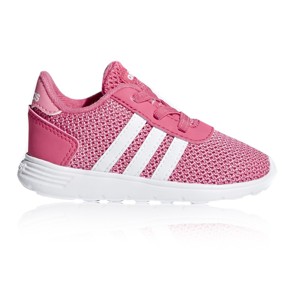 bb2161b6b478 Adidas Lite Racer - Toddler Girls Running Shoes - Pink White Online ...