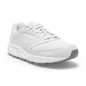 Brooks Addiction Walker - Womens Walking Shoes - White