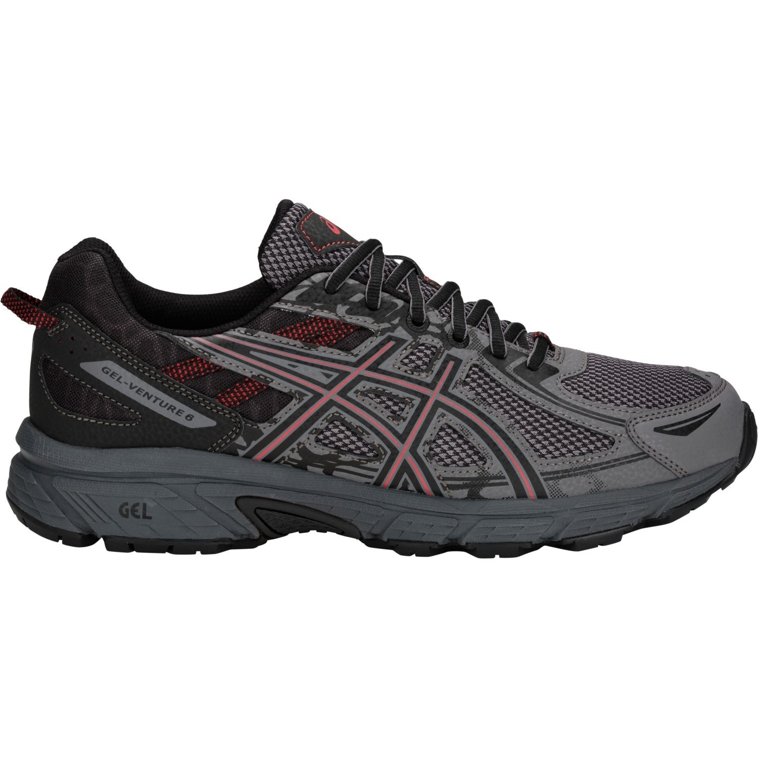 66c6cc54792 Asics Gel Venture 6 - Mens Trail Running Shoes - Carbon Cayenne ...