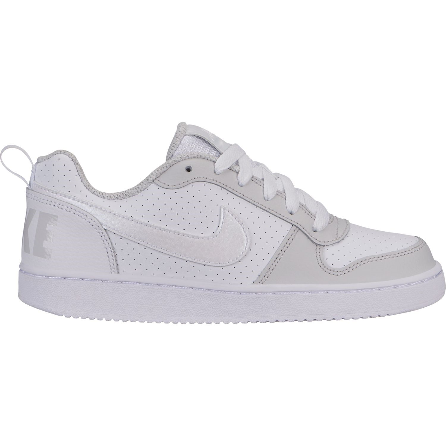 innovative design a2d7f 5d983 Nike Court Borough Low GS - Kids Sneakers - White Vast Grey