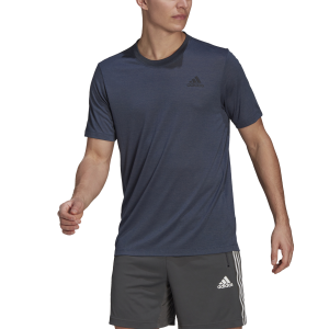 Adidas Primeblue D2M Heathered Mens Training T-Shirt