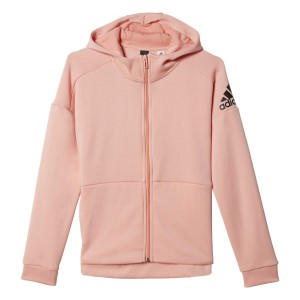Adidas ID Full Zip Kids Girls Training Hoodie