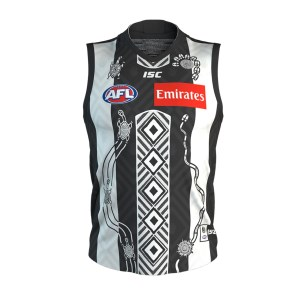 ISC Collingwood Magpies Mens Indigenous Guernsey 2020