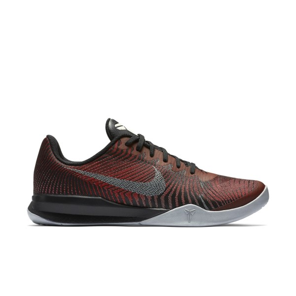 3f8a8ad6ae50 Nike Kobe Mentality 2 - Mens Basketball Shoes - Black University Red Metallic  Silver