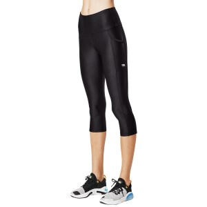 Running Bare Power Moves Ab Waisted Vixen Womens 3/4 Training Tights