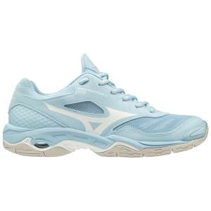 324fd956a078 Mizuno Wave Phantom 2 - Womens Netball Shoes - Cool Blue White
