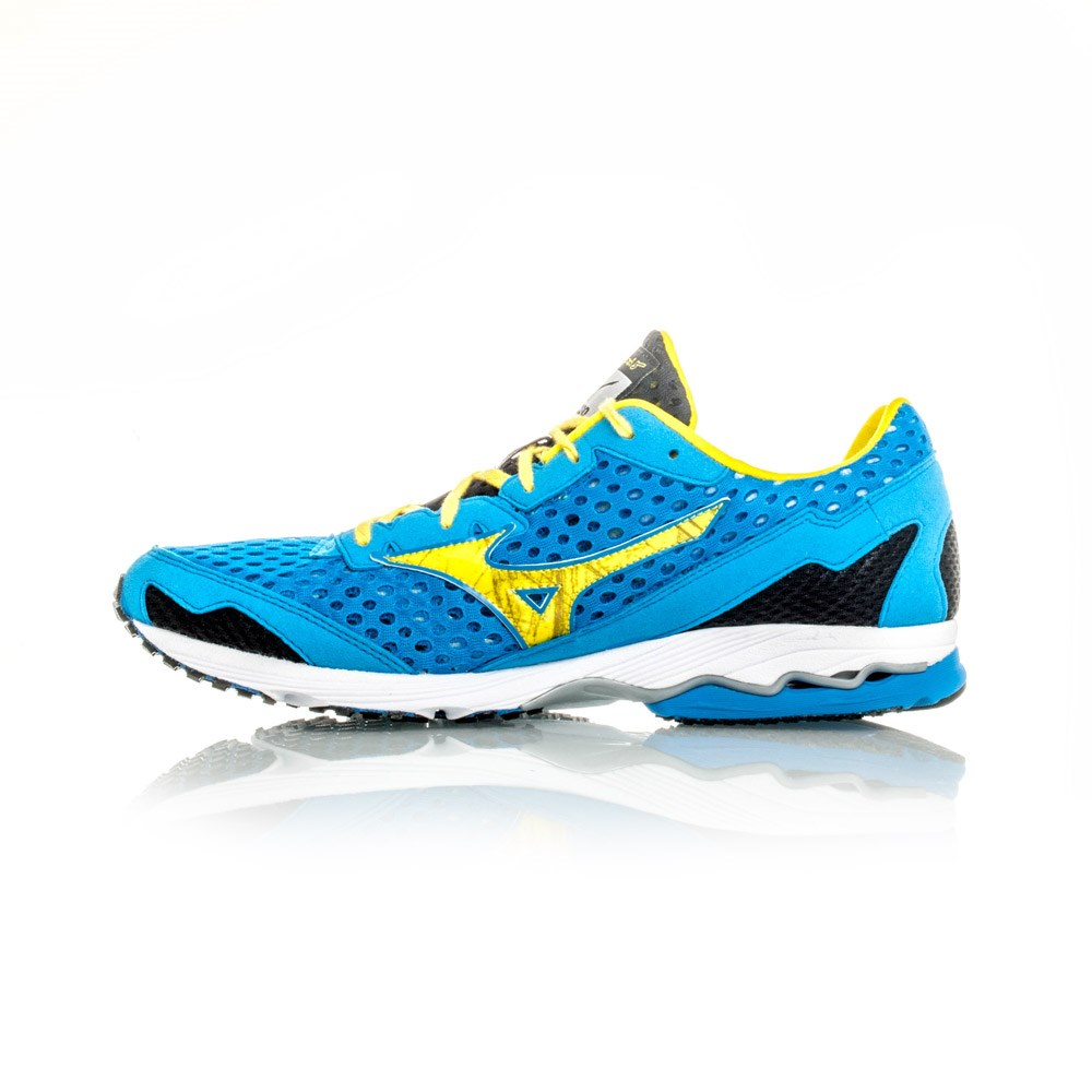 3bb585cd169f Mizuno Wave Ronin 5 - Mens Racing Shoes - Blue Yellow