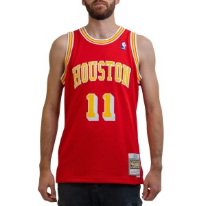 Mitchell & Ness Houston Rockets Yao Ming 2004-05 NBA Swingman Mens Basketball Jersey
