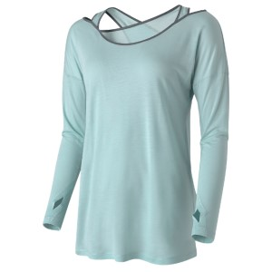 Casall Wrap Womens Long Sleeve Training Top