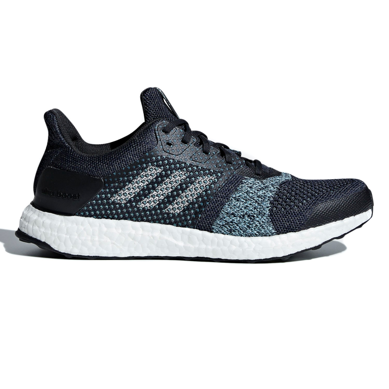d9cd9f75e Adidas Ultra Boost ST Parley - Mens Running Shoes - Legend Ink Clear Mint