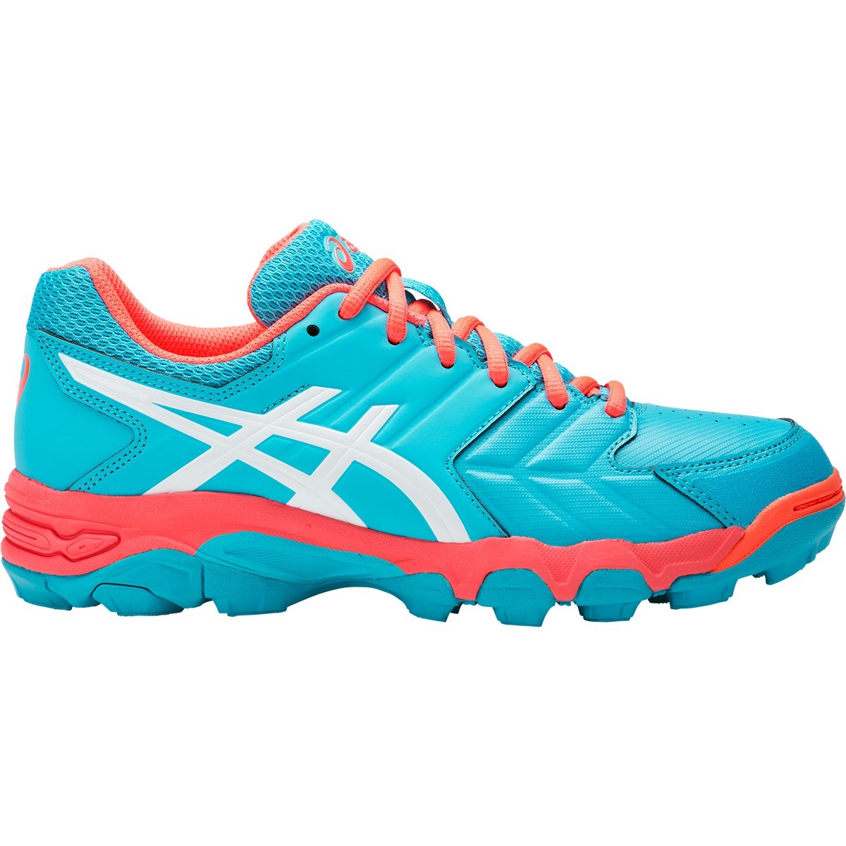 5988f75ca20 Asics Gel Blackheath 6 - Womens Hockey Shoes - Aquarium/White/Flash Coral